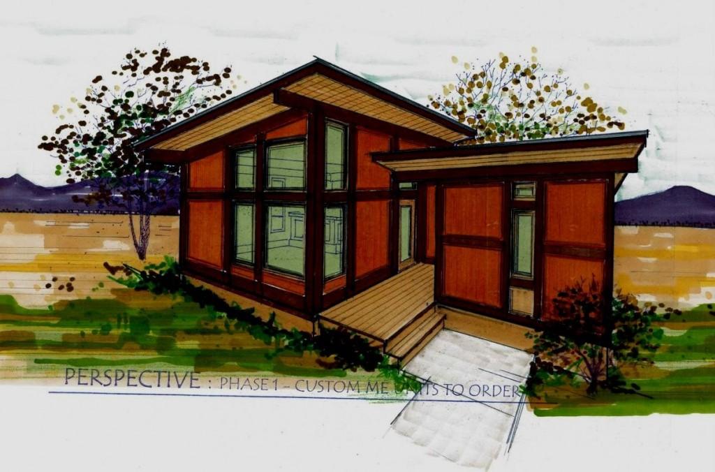 Panelized Home Design - Core Sketch